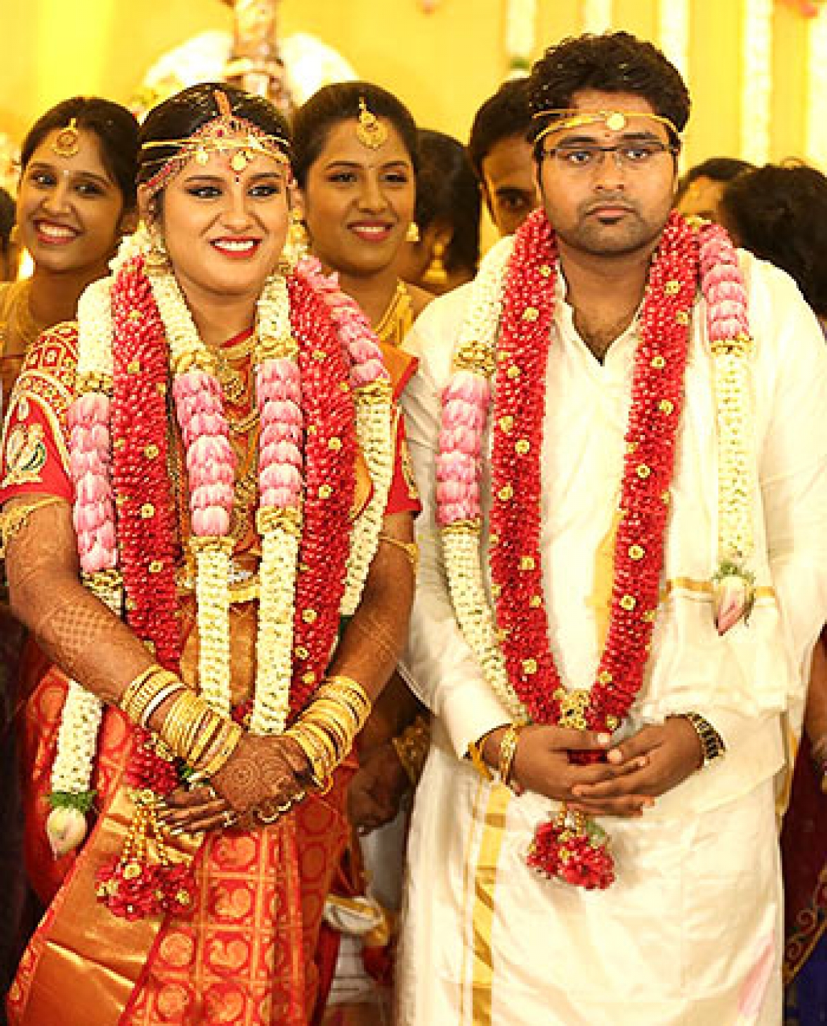 Tamil Film Maker KS Ravikumars Daughters Wedding
