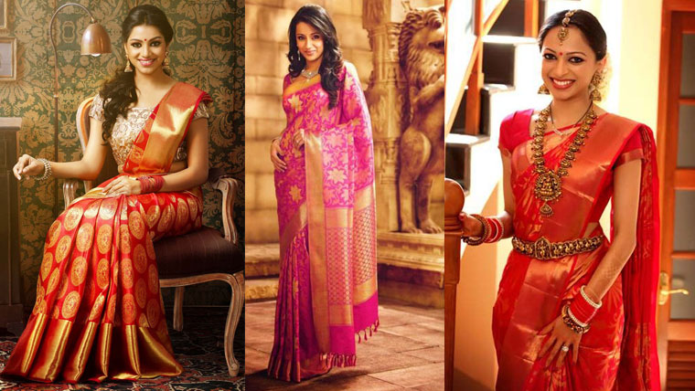 South-Indian-brides-obsession-with-silk-sarees