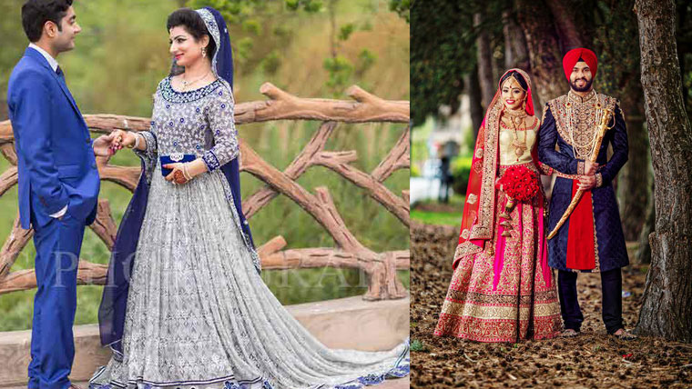 How-to-colour-coordinate-bride-&-grooms-outfits