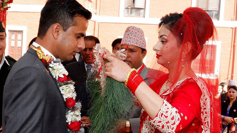 A-grand-wedding-at-Nepal-Presidential-palace