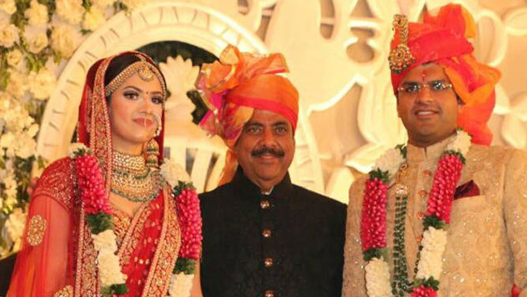 Indias-youngest-MP-ties-the-knot