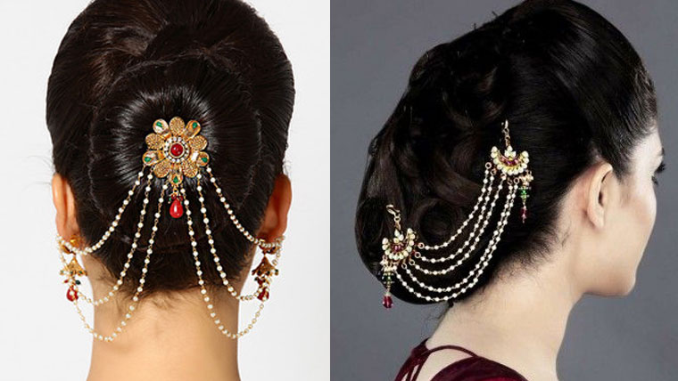 Traditional-hair-accessories-for-an-Indian-bride