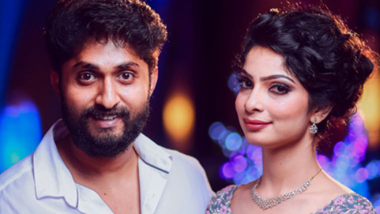 Actor-Dhyan-Sreenivasan-gets-engaged-to-Arpita