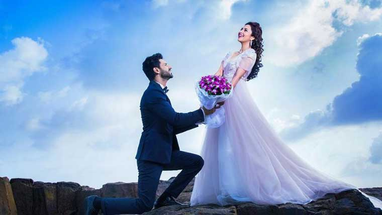 Dreamy-pre-wedding-photo-shoot of Divyanka-&-Vivek