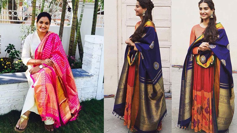 Ways-to-refashion-your-Kanchipuram-sarees