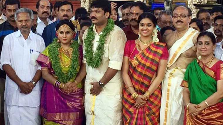 Menaka-&-Suresh's-daughter-Revathy-gets-married