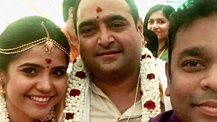 Director-Vikram-Kumar-ties-the-knot-with-Srinidhi