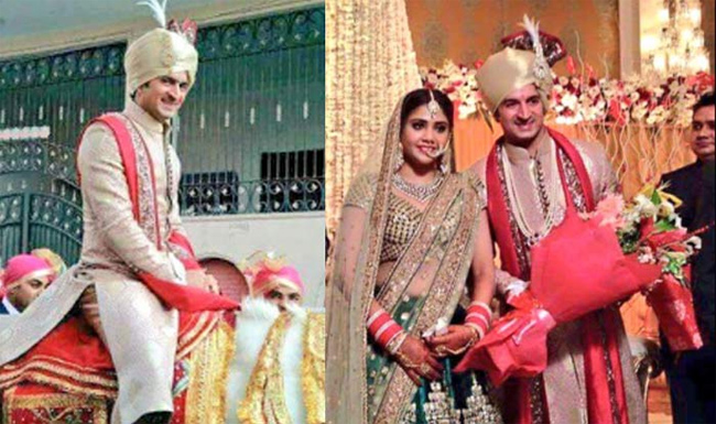 Cricketer-Mohit-Sharma-Ties-Knot