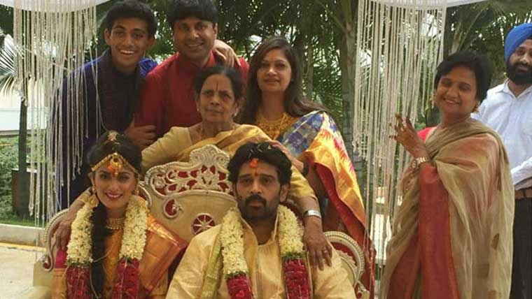 J-D-Chakravarthy-marries actress-Ankuriti-Sharma
