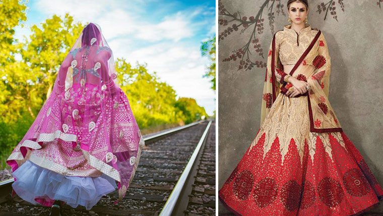 Tips to-turn-your-normal-lehenga-wedding-worthy
